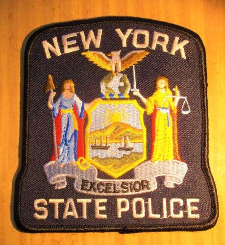 GEMSCO NOS Vintage Patch POLICE TROOPER STATE OF NEW YORK  Original 35+ -V1L