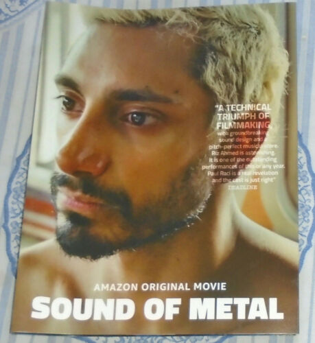 SOUND OF METAL FYC AWARDS FOLD-OUT PHOTO BOOKLET RIZ AHMED DARIUS MARDER AMAZON