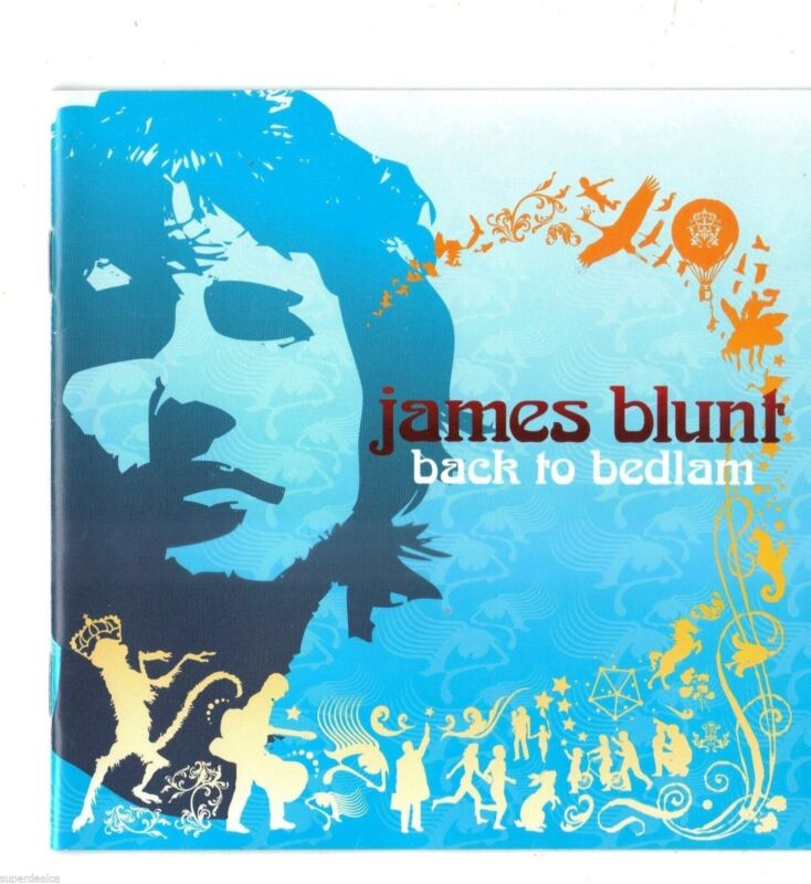 Back to Bedlam James Blunt in YOURE BEAUTYFULL & HIGH GOODBYE LOVER WORD SONG CD