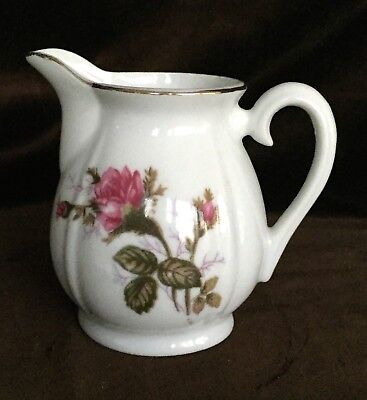ROSE Porcelain CREAMER OR SMALL PITCHER MADE IN JAPAN