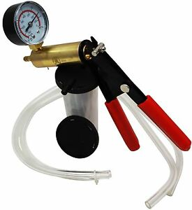 Bremsenentlüftungsgerät Kfz Werkzeug Bremsen entlüfter Set Vakuum Pumpe Satz