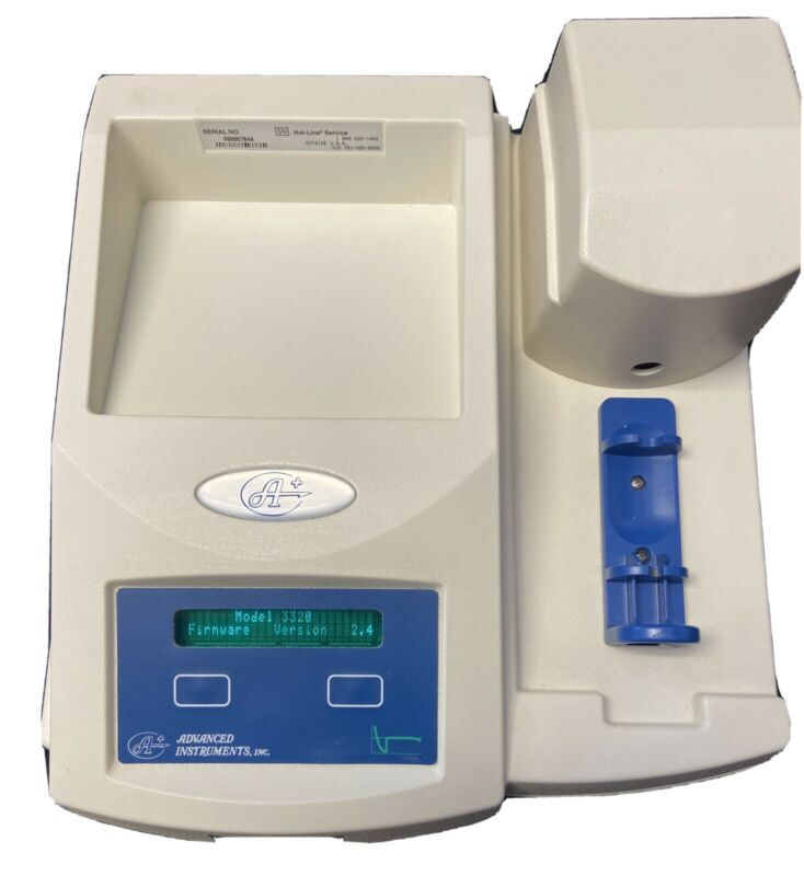 Advanced Instruments Osmometer, Model 3320, Osmolality Measurement Micro-Sample
