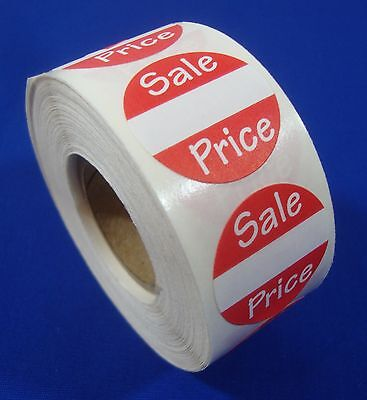 Self-adhesive Sales Price Labels 1 Stickers Tags Retail Store Supplies