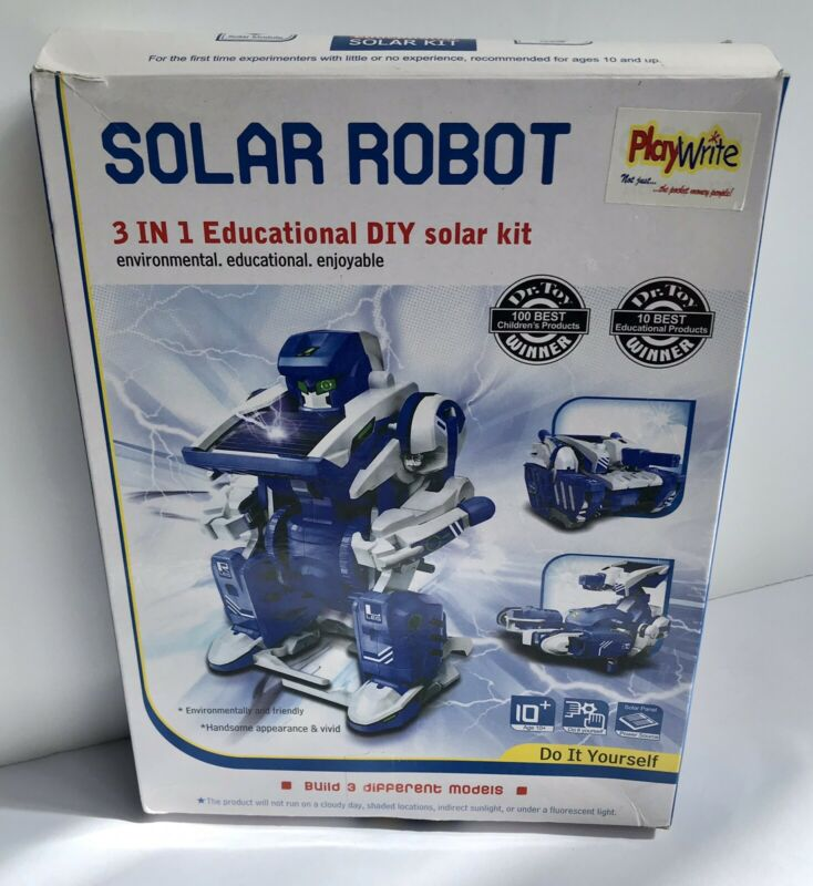 Young+Science+Solar+Panel+Powered+Motor+3-in-1+Robot+Construction+Kit+Boxed%2C+New