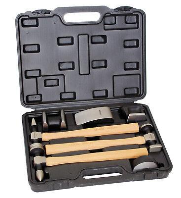 Ausbeulhammer Set Ausbeulwerkzeug Karosserie Blech Hammer 7 teilig
