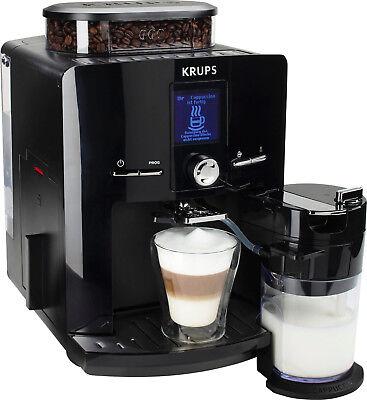 Krups Latt´Espress EA 8298 Schwarz 9 Tassen Espresso-Vollautomat NEU/OVP