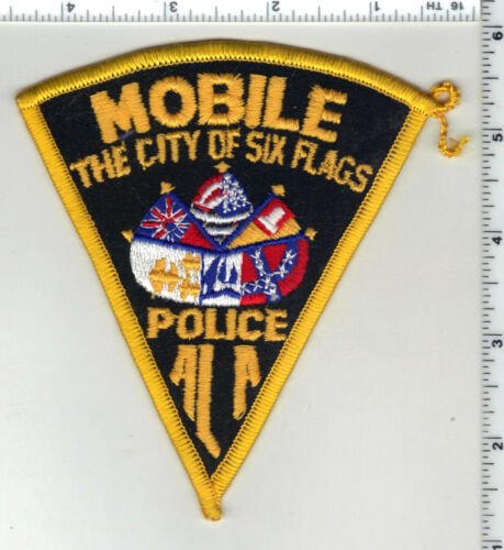 Mobile Police (Alabama) 4th issue Shoulder Patch