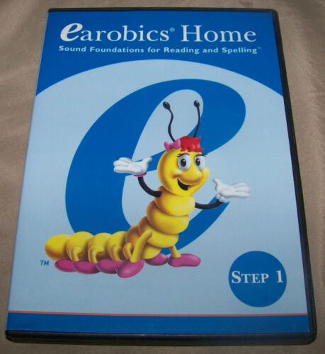 Cognitive Concepts Earobics Home Step 1 CD Rom Sound Foundations Reading