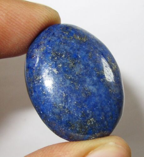 Natural Afghani Lapis Lazuli Loose Gemstone 36.65Ct Certified With Free Shipping