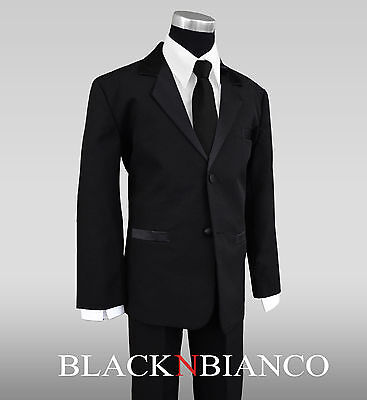 Formal Tuxedo Suit For Kids Additional Bow Tie And Black ...