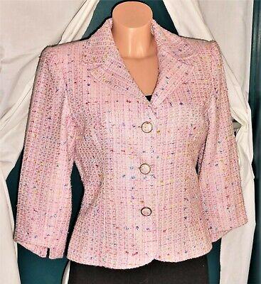 Taille M-38_CHIC_Veste Blazer ROSE Femme_Vêtements Bureau_Woman Pink Jacket