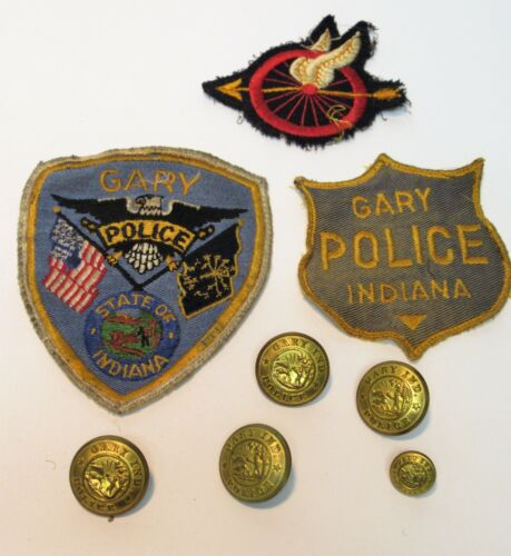 VINTAGE GARY POLICE DEPARTMENT OLD OBSOLETE 1960