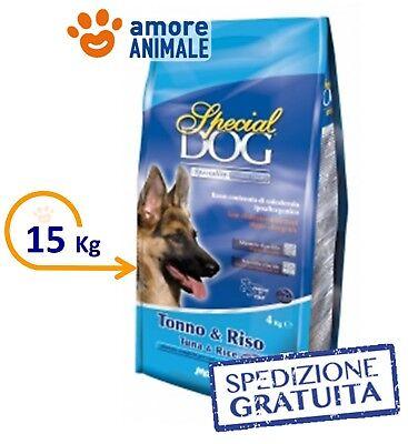MONGE Special Dog - Tonno e Riso Kg.15 >> Crocchette per cane cibo per cani
