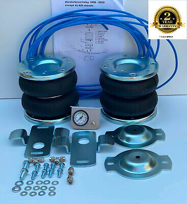 AIR SUSPENSION KIT FIAT DUCATO 1994 - 2020 RECOVERY MOTORHOME DROPSIDE LUTON