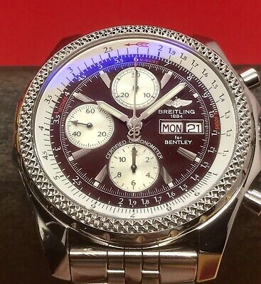 Breitling for Bentley GT Chronograph Special Edition 45mm Burgundy Dial A13362