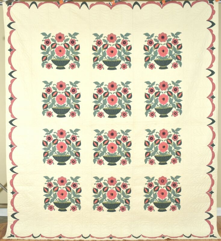 Large, Well Quilted Vintage 40
