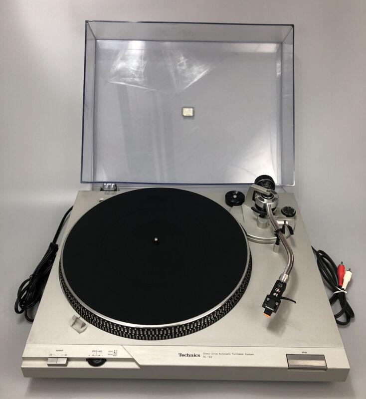 Technics Semi-Automatic Direct Drive SLD2 Auto Return Turntable Record Player AA