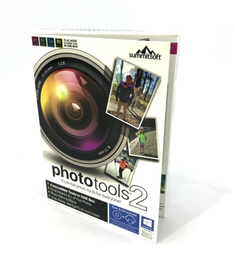 Summitsoft Phototools 2 Photo tools Software For Windows Disc + Download #0826