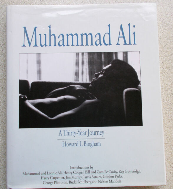 SIGNED - MUHAMMAD ALI-A Thirty Year Journey by H.L.Bingham 1st HB/DJ-dual signed