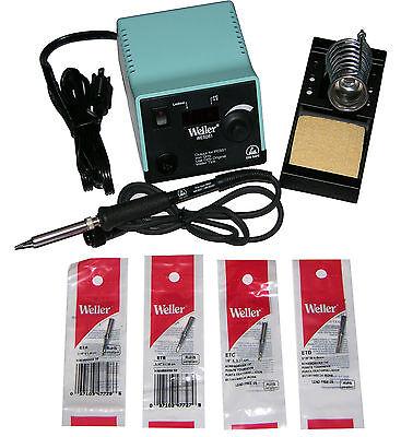 Weller Wesd51 Digital Soldering Station With Chiselscrewdriver Tip Bundle