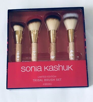 Sonia Kashuk Limited Edition Tribal Makeup Brushes (Tribal Makeup)