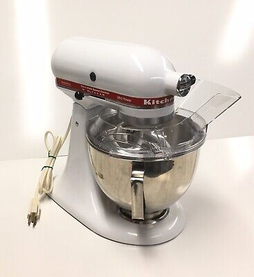 KitchenAid Stand Mixer KSM90WH 10 Speed Ultra Power w/Extras