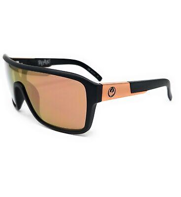 DRAGON Sunglasses REMIX 2 037 Matte Black Shield Unisex 68x22x140