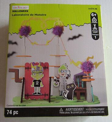 Creatology children 6+ Halloween Craft Kit 74 Foam Pieces Monster Laboratorie  - Creatology Foam Halloween
