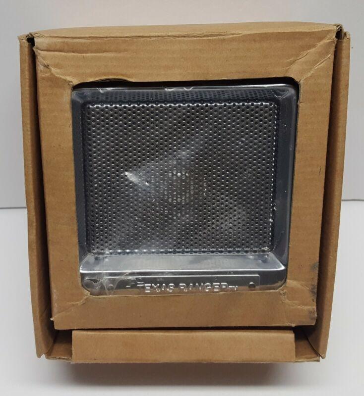 Texas Ranger External Speaker SRA-168 w/ Chrome Finish - New in Box