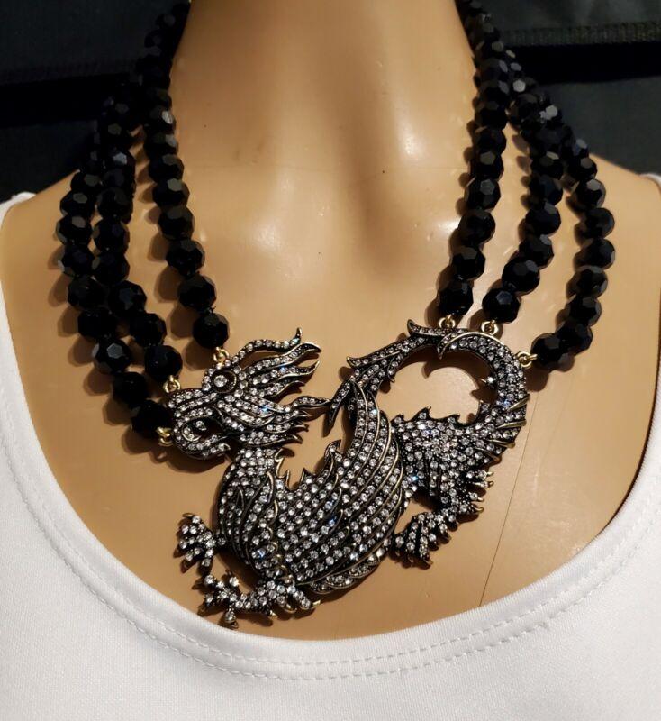 Heidi Daus Mystical Madness Dragon Necklace   Ret: $249.95