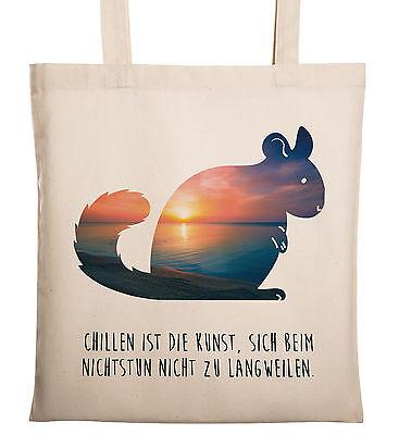 Tragetasche Chinchilla -  Tragetasche, Tasche, Beutel, Jutetasche, Bag, Juteb... (Chinchilla Tasche)