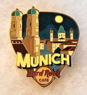 HARD ROCK CAFE MUNICH GREETINGS FROM GUITAR PICK SERIES PIN # 95872