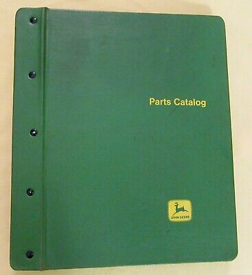 John Deere 2440 Tractor Parts Catalog Pc-1538 With Sx-1002 Binder  Sn -340999
