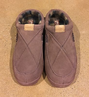 LAMO Footwear Chocolate Men's Size 12 Clogs Scuff Slippers Comfortable Shoes