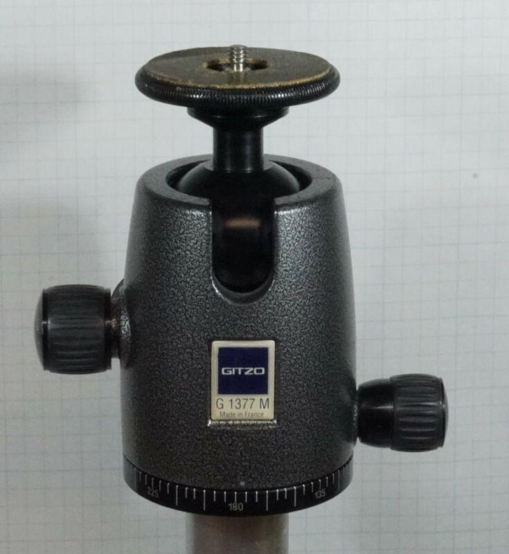 Gitzo G 1377 M Magnesium Alloy Tripod Ball Head - Made in Italy