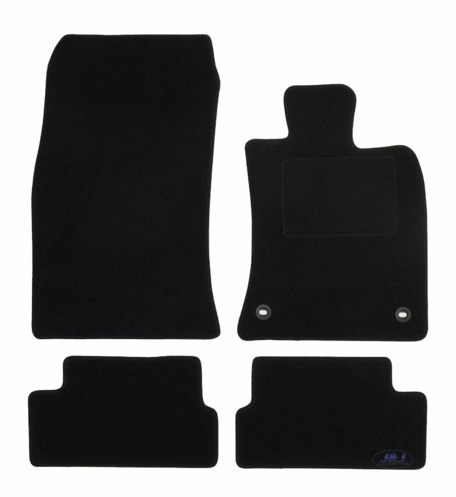 Quality FULLY TAILORED Black Floor Car Mats Fits To MINI