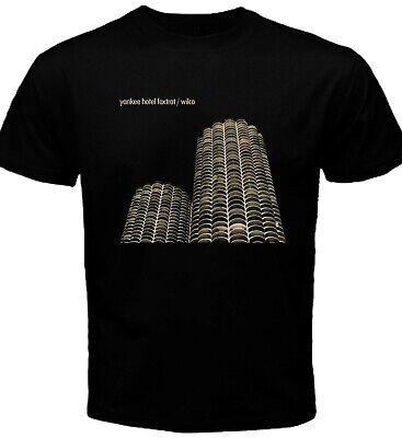 Custom Yankees Shirt (Yankee Hotel Foxtrot Wilco Black T-shirt Custom Size)