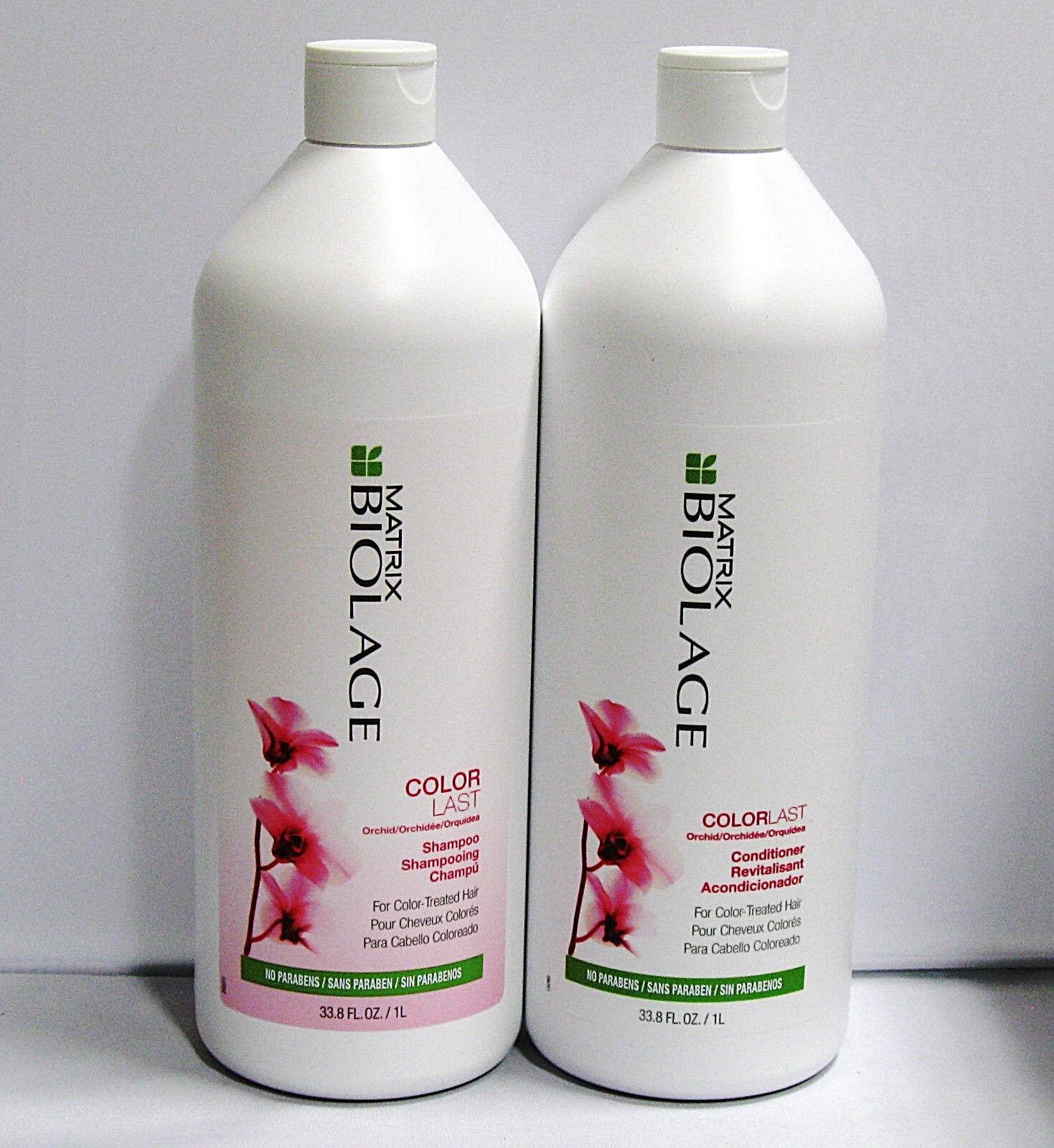 Matrix Biolage ColorLast Shampoo Conditioner 33.8 oz Liter Duo Set Color Care