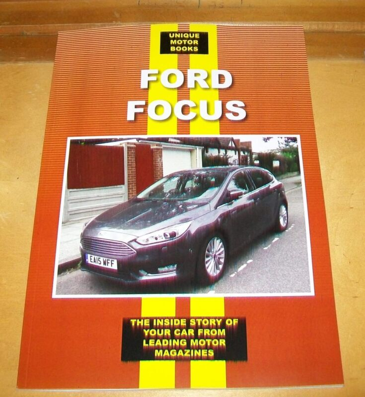 FORD+FOCUS+RS+WRC+ST+1.6+Ti-VCT+1.8+TDCi++ROAD+TEST+REPRINT+BOOK.UMB