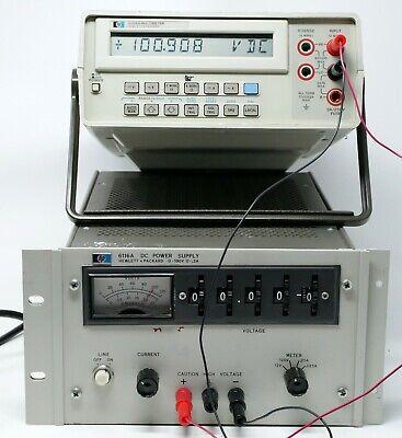 Hp Agilent Keysight 6116a Dc Power Supply 0-100v 0-.2a