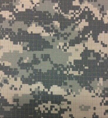 ACU ARMY DIGITAL NYLON COTTON MILITARY NY/CO RIPSTOP CAMOUFLAGE CAMO FABRIC 66