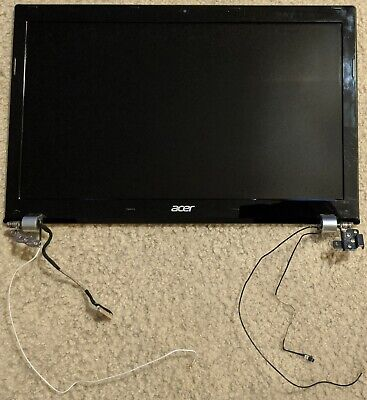 Genuine Acer V3-571-9831 Laptop LCD Screen Assembly Complete with Hinges Screws