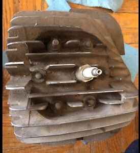 1982 Yamaha YT175 Tri Moto Cylinder and Head