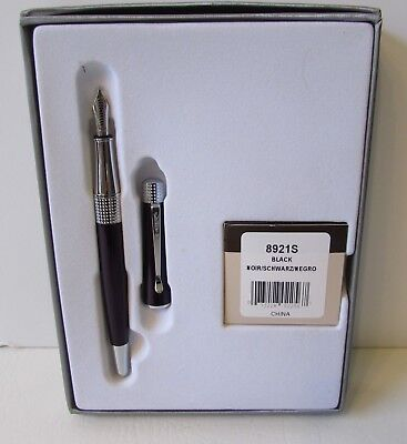 Vintage CROSS Fountain Pen W/Original Case, Lightly Used, Excellent, Dark Purple