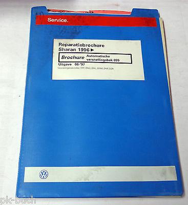 Reparatiebrochure VW Sharan Automatische versnellingsbak  099 ab 1996