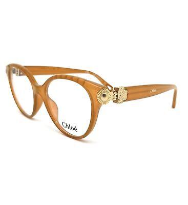 CHLOE Eyeglasses CE2733 829 Mustard Cat Eye Women 52x17x140