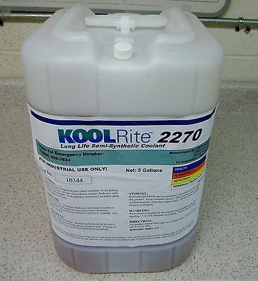 Kool Rite 2270 Soluble Oil Coolant Lathe Cnc Bridgeport Mill Cutting Fluid