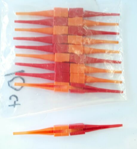 Alconics USA  14-10 Insertion / Extraction Tool Ten Count Red / Orange