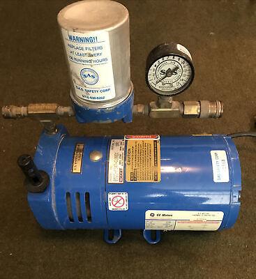 Gast Fresh Air Vacuum Pump Model 0523-p347. Excellent