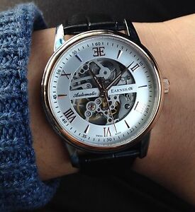 Thomas Earnshaw Beagle Automatic Skeleton Watch NEW Merrylands West Parramatta Area Preview
